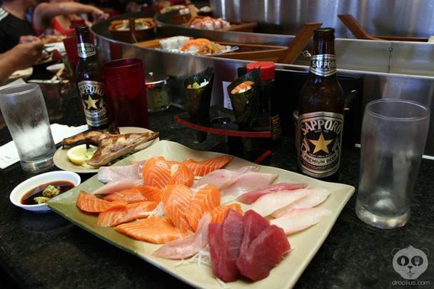 Fuji sushi buffet elk grove ca droolius for Sushi grade fish near me