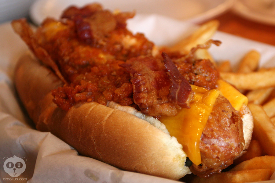 Beer Battered Dipped, Deep Fried Hot Dog – The Old Salty Dog ...