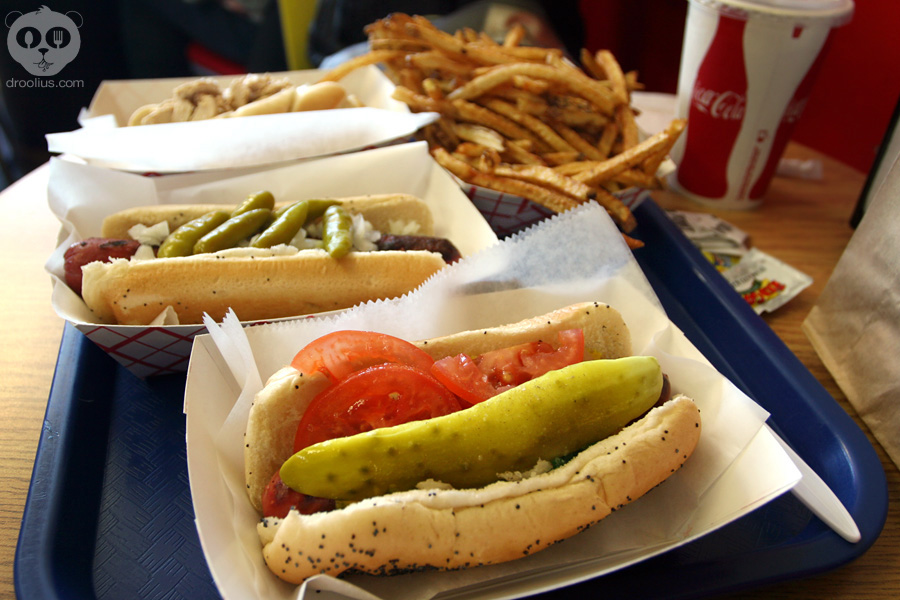 Hot doug s chicago hot dogs duck fat fries droolius for Doug s fish fry
