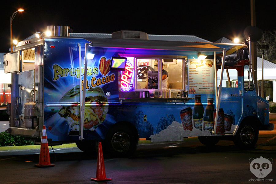 Arepa Food Truck Orlando