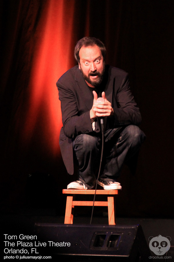 Unkowingly Owling Tom Green at The Plaza Live Theatre