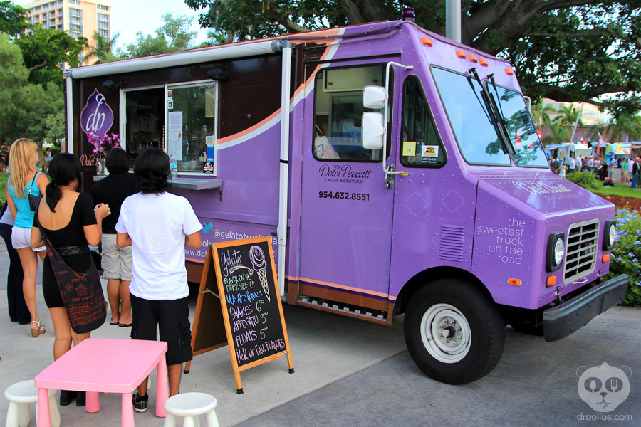 Dolci Peccati Gelato Miami Food Truck Droolius