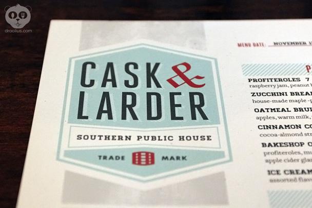 Cask & Larder Brunch