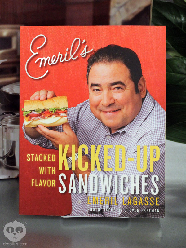 Chef Emeril Lagasse's Kicked-Up Sandwiches Cookbook