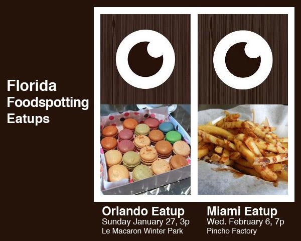Florida Foodspotting Eatups Orlando Miami