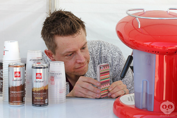 Chef Richard Blais evian water evianeats SOBEWFF 2013