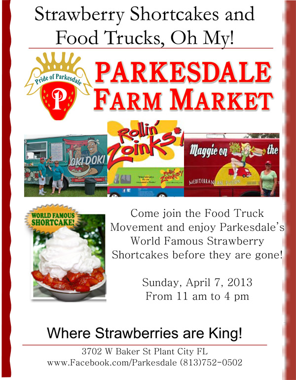 Parkesdale Food Truck Flyer