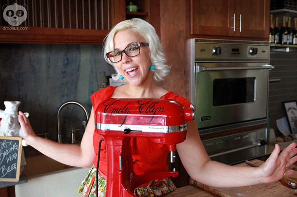 Retro Rad Chef, Emily Ellyn Baking with Beer Demo & Interview