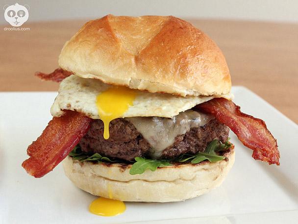 Droolius Burger Recipe for FabioViviani.com