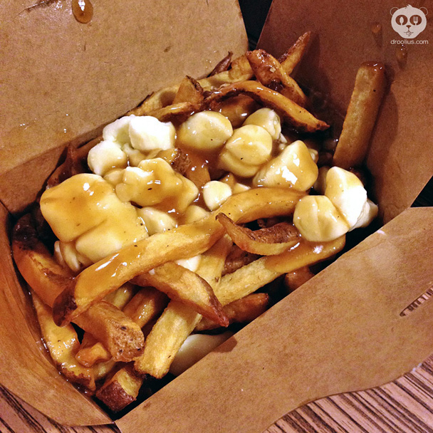 Poutine at Smoke's Poutinerie