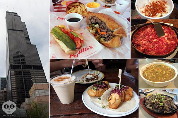 Droolius Chicago Part 2 Food & Travel