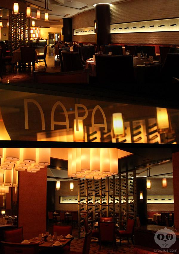 Napa at The Peabody Orlando Magical Dining