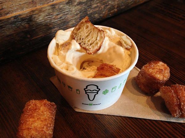 Shake Shack Partners with Chef Dominique Ansel Cronut Hole Concrete