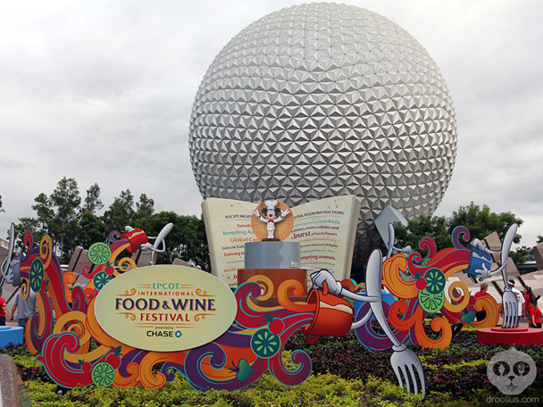 Epcot Food & Wine Festival 2013