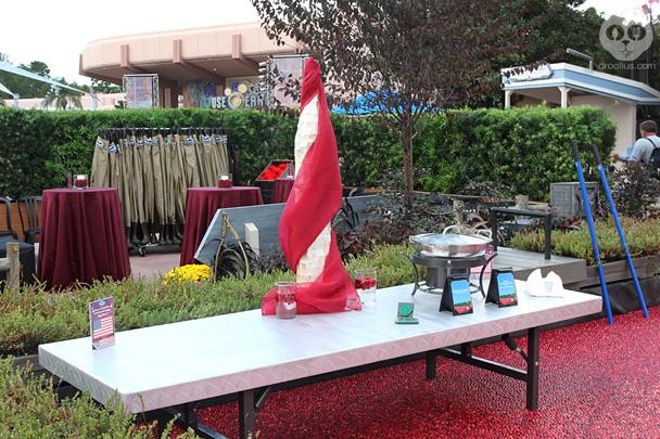 Ocean Spray Cranberry Bog at Epcot Food & Wine Festival 2013
