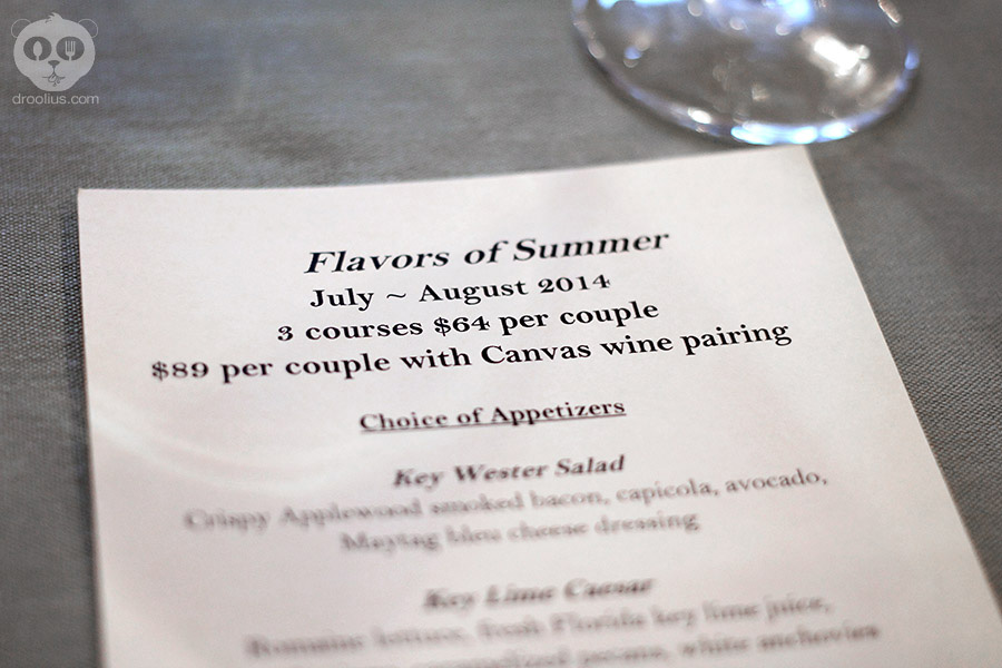 Flavors of Summer' at Hemingway's Hyatt Regency Grand Cypress