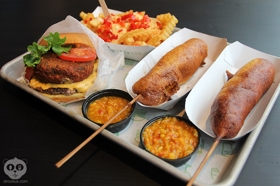 Kicking Off My Labor Day Weekend With The Shack Corn Dog At Shake Shack!