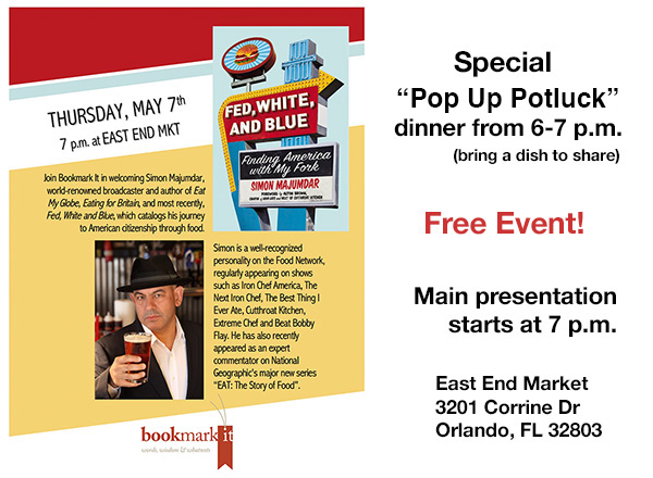 Simon Majumdar Making Stop At at East End Market In Orlando For