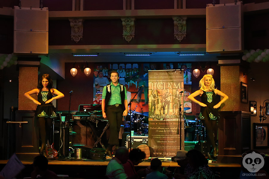 Great Irish Hooley at Raglan Road Irish Pub & Restaurant