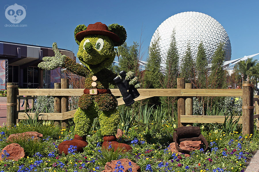 2016 Epcot International Flower Garden Festival Outdoor Kitchens