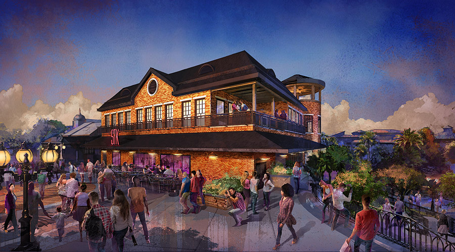 Rendering of STK Orlando at Disney Springs