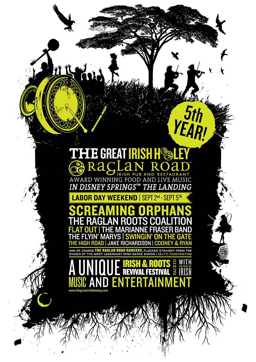 celebrating the great irish hooley at raglan road irish pub