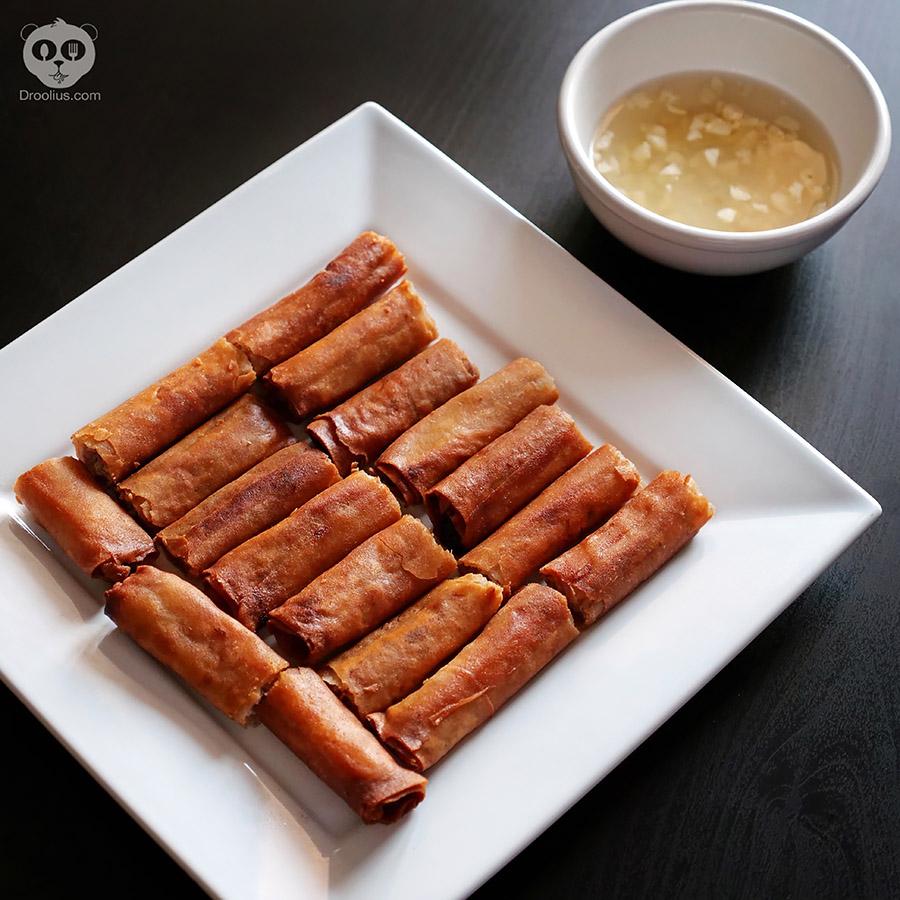 Filipino Lumpia Shanghai eggrolls